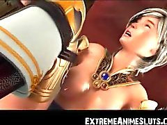 3D Jedi Girl Brutally Toyed!