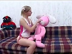 creampie for pigtailed girl