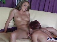 Two lusty dolls have some lesbian fun
