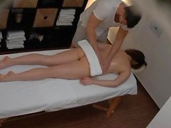 Young brunette gets the massage of her dreams