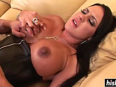 Mariah Milano in boots gets drilled