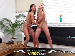Vipissy - Dido Angel and Lexi Dona piss all over each other