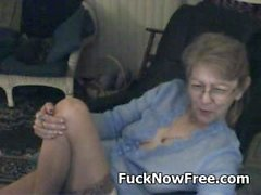 Lovely granny with glasses 3