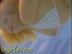 Youthful legal age teenager vanessa groped in the pool menacing-fearsome greater amount of her at grope-web camera.com.mp4