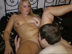hot german amateur milf fucks her sons friend