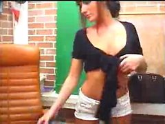 Real small titted skinny teen audition