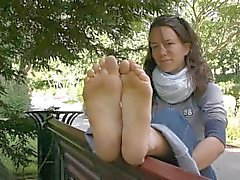 Nice French Dirty Feet Soles Foot Fetish