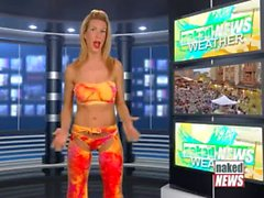 Naked News - Whitney St.John (Yellow Pants) 2013-07-25