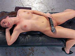The delightful hotty of anal machine sex menacing-menacing HD Porn