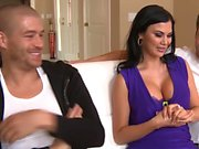 Busty MILF Jasmine Jae gets double penetrated in a threesome