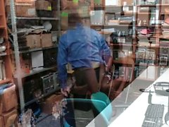 ShopLyfter - Hot Black Teen Thieves Fucked By Guard