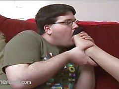 BBW Swallows A Little Dick Whole
