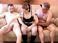 baise entre amis, steph debar french blonde in gangbang