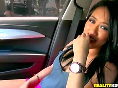 Reality Kings - Suck it Sonia, hot asian gets a ride