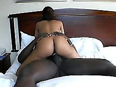 Latina butt using that is huge dick that is black