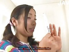 Shy Asian Chick Stripped