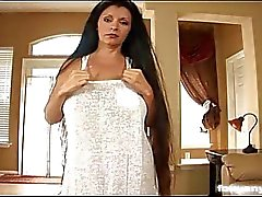 Busty Anya Sucks Cock And Titty Fucks