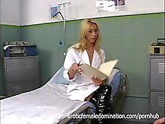 Dominant Nurse Kelly Wells Has Fun At Work