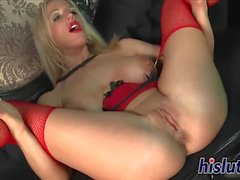 Kinky bitch enjoys getting hammered