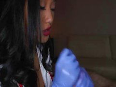 Asian Nurse Outfit Suck And Fuck