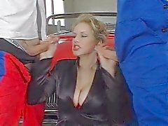 Zuzanna Busty Bosses fucked by two young guy