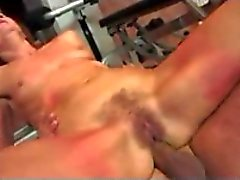 Hairy Granny Gets Her Anal Workout