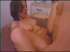 Sabine Mallory fucked on a table