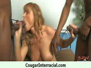 Interracial hard sex with a very hot cougar milf 8