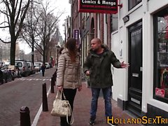 Real dutch hooker rubbing