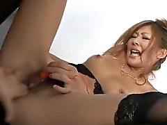 Nasty toy insertion porn with Erena Kurosawa