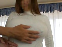 wife's huge lactating boobs 7
