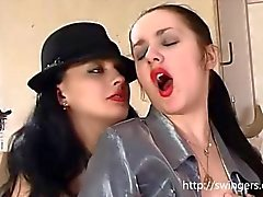 Pantyhose Russian lesbo games