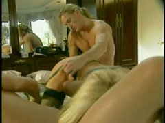 cul, anal, blond, doggystyle, dp