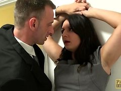 PASCALSSUBSLUTS - Anally slammed Sophie Garcia gets a facial