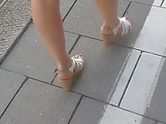 whith wedges - long legs