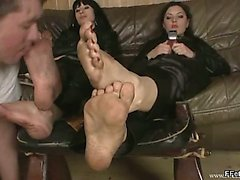 bdsm, esclavage, lié, domination, footjob