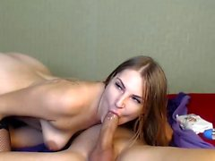 Webcam amateur couple blowjob