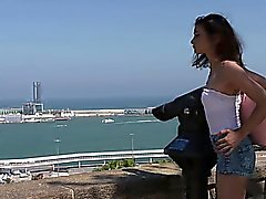 Bitches Abroad - Italian tourist babe gets banged hard