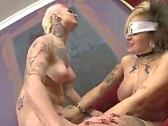 Mad Goth Lesbians Making Out