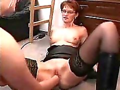 Young girl fisting her mature neig Karrie from 1fuckdatecom