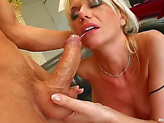 Sexually Excited mother i'd like to fuck is drilled by a large jock previous to swallowing a large load