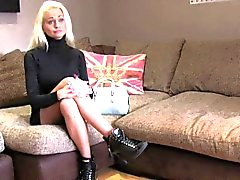 FakeAgentUK Casting couch sees smoking hot blonde give anal
