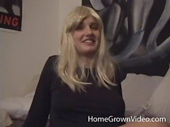 Hairy amateur girlfriend with lactating nipples fucked