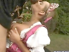 Big Boobs Stepmom Banged Hard On The Country