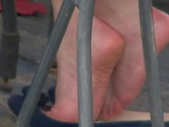 pieds, shoeplay, appartements, amateur