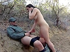 Police blonde hd Kayla West was caught lusty patrool during