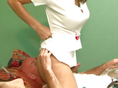 Latin Chick sheboy nurse jizzed