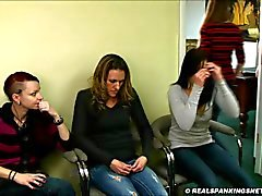 Four girl school corporal punishment