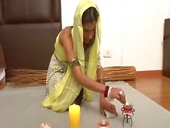 Sexy indian wife prefers hard anal penetration