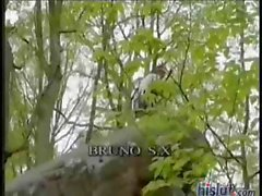 Blonde Silvia Saint love to fuck outdoors and gets her ass hammered